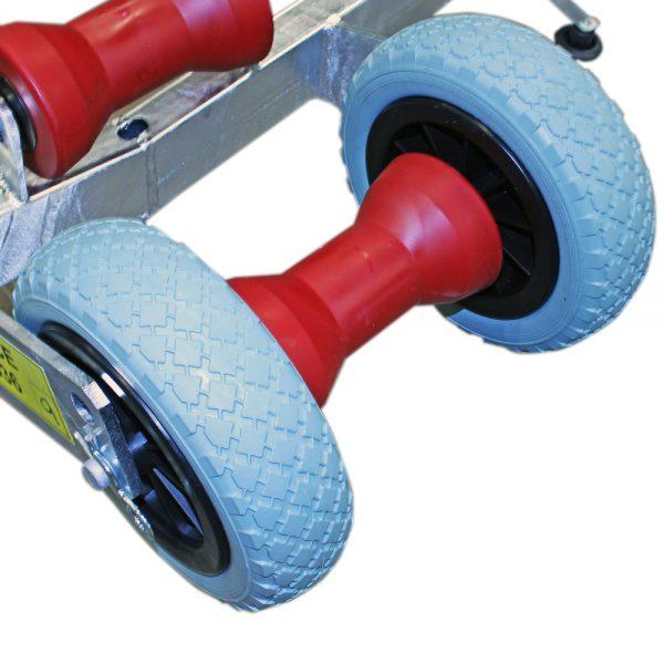 Instyrningshjul. Hjulsats TK1109.