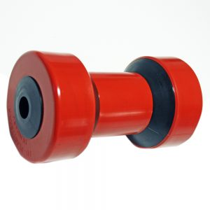 Kölrulle. 200x112x70 mm. Hål 22 mm.