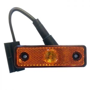 Sidolykta LED. Orange.