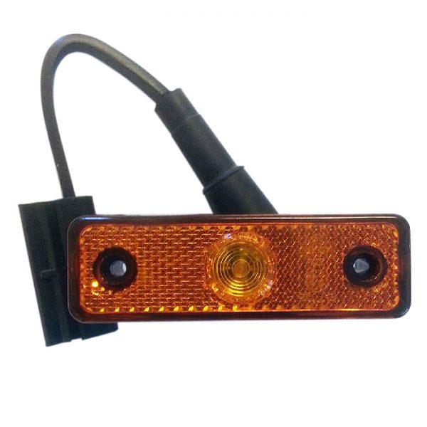 Sidolykta LED. Orange.
