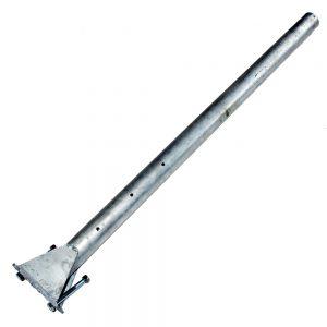 Flottörrör 1 m. Hål 54 mm.