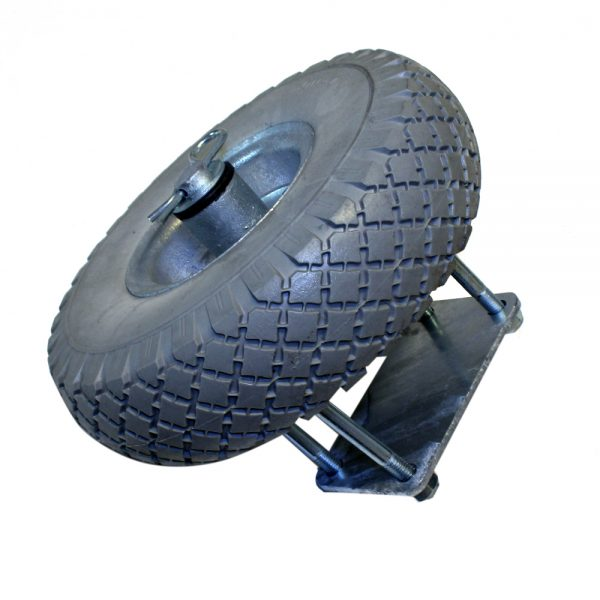 Styrhjul för bryggbom