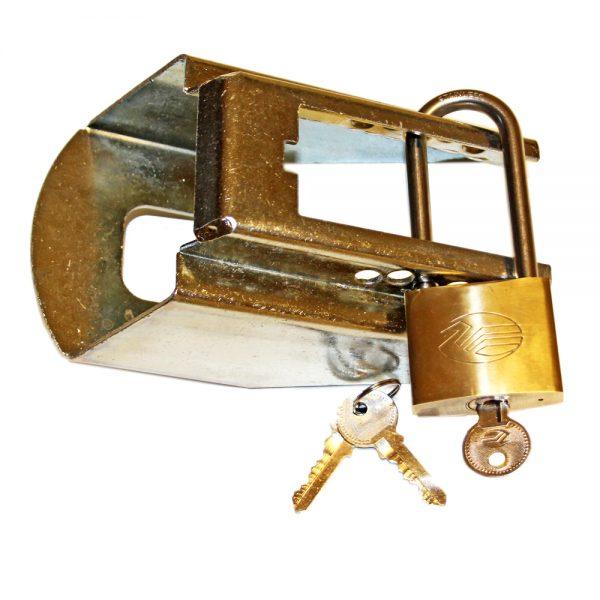 Kulkopplingslås Trailerline Saftey Lock.