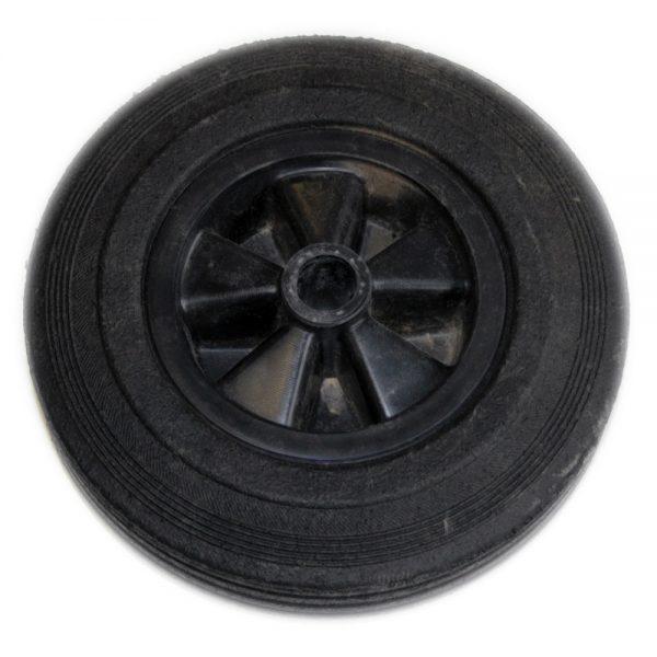 Hjul till vevbart stödhjul