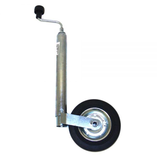 Vevbart stödhjul - vagn.
