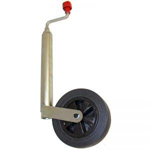 Vevbart stödhjul – vagn.
