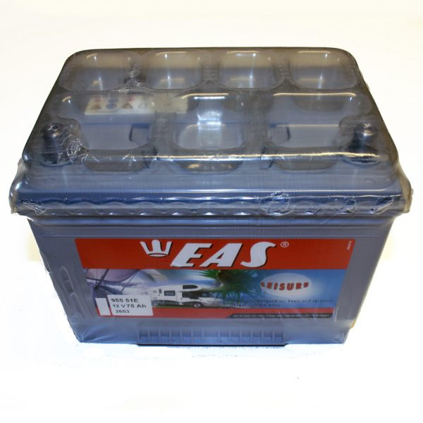Batteri 12V/75 amp.