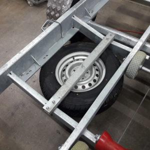 Reservhjulshållare till BT2000 & BT3500