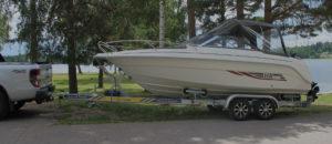 Hantera din båtvagn/trailer